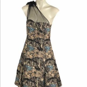 Tracy Reese Plenty Frock Into The Woods 6 Dress